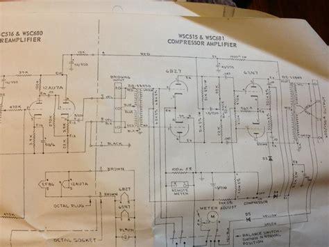 Webster Electric Tube Compressor Schematic Gearslutz Pro
