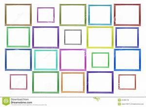 Cadre De Tableau : la couleur ajuste le cadre de tableau en bois illustration ~ Dode.kayakingforconservation.com Idées de Décoration