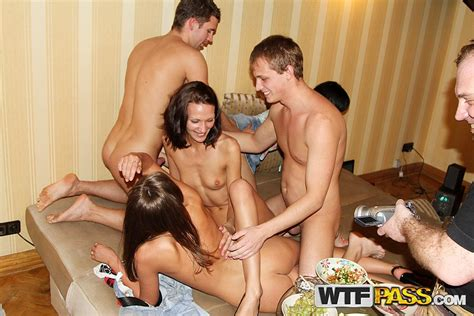 Drunk College Students Partake In Group Sex Activities