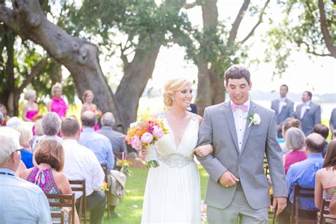 South Carolina Lilly Pulitzer Inspired Wedding