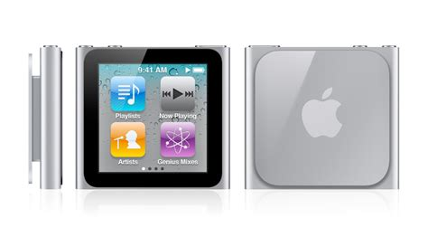 ipod nano generationen ipod nano loses click wheel for square multi touch display