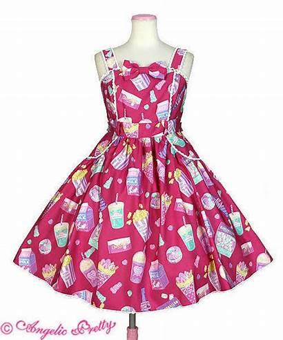 Angelic Pretty Fancy Candy Pink Jsk Dresses