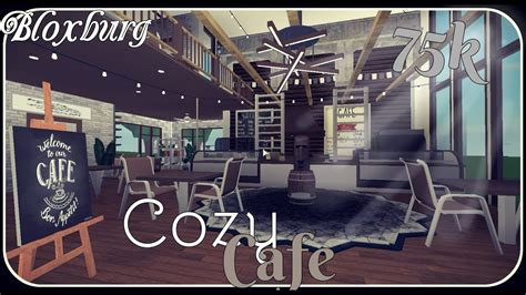 Menu welcome to blox burg roblox. Bloxburg    Cozy Cafe Speedbuild    (75k) - YouTube