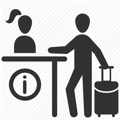 Icon Concierge Icons Tourist Center Reception Info