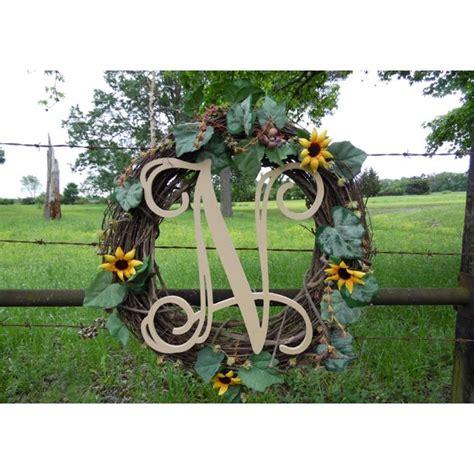 wooden monogram vine letter  unfinished craft letter paintable diy walmartcom walmartcom