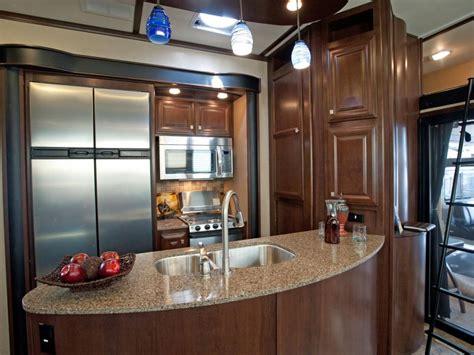 rv kitchen design take the 2014 rv tour hgtv 2076