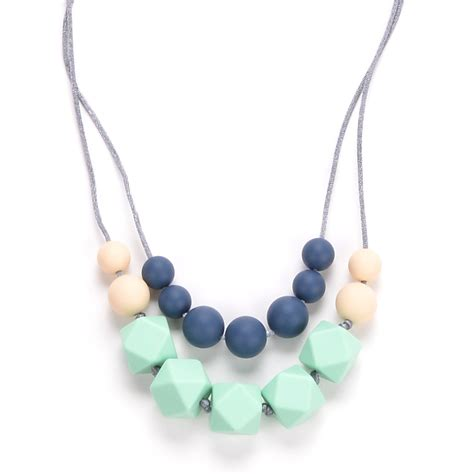Amazoncom Teething Necklace For Moms By Lolly Llama