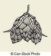 foto de Birra luppolo Decorativo set stilizzato birra