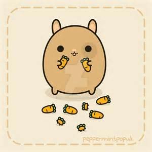 Kawaii Bunny Carrot Drawings