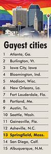Springfield ranked 13th most-gay friendly city in U.S. by ...