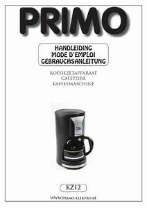 Primo Kz12 Coffee Maker Download Manual For Free Now
