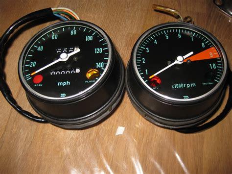 honda cb750 k0 sandcast glass lenses for tacho and meter 1969 1970 ebay