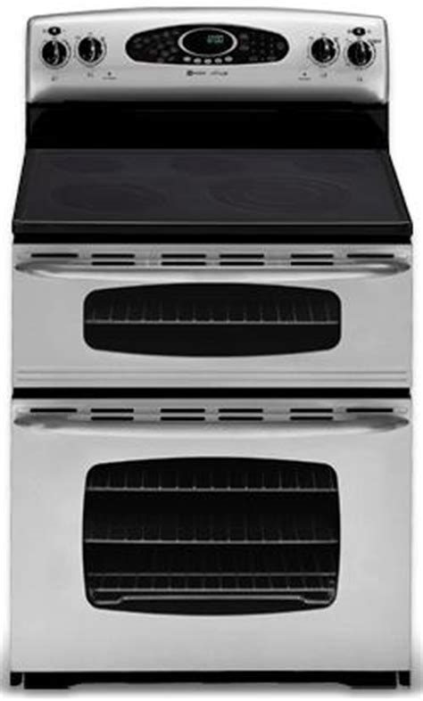 Maytag ranges   Gemini free standing double oven range