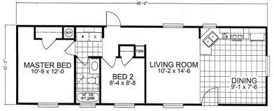 2 bedroom trailer houses 16 x 66 floor plan new 2 bedroom