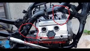 Pan European Engine Removal Depose Moteur St1100 Piaf