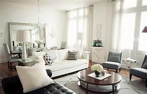Comment Amenager Salon Salle A Manger Rectangulaire : miroir salle manger espace quilibre nergie ~ Melissatoandfro.com Idées de Décoration