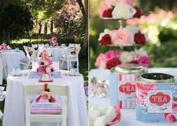 Garden Party Decoration Ideas by Falling Leaves 25th Afternoon Tea Party