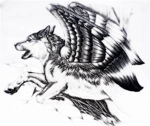 On wolf's wings by paleWOLF on DeviantArt