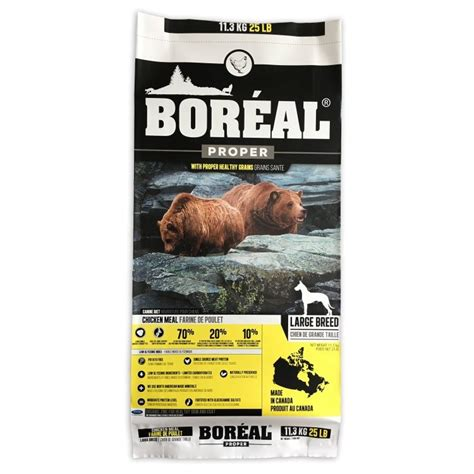 boreal cuisine boreal proper food low carb large breed chicken 11 33kg maddies