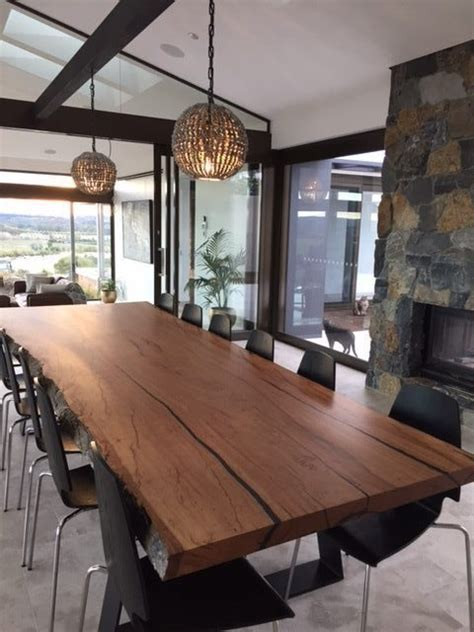 Live Edge Dining Table   Lumber Furniture
