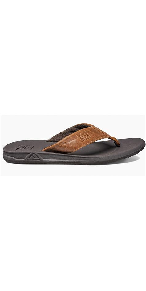 reef mens phantom flip flops black brown rf002025 footwear wetsuitoutlet wetsuit outlet