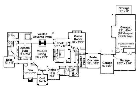 chateau floor plans chateau house plans picardie villa 30 676 associated