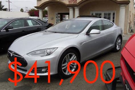 Cheapest For Sale by These Are The 5 Cheapest Teslas For Sale On Autotrader