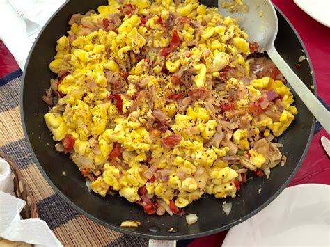 How To Cook Fresh Picked Ackee Youtube