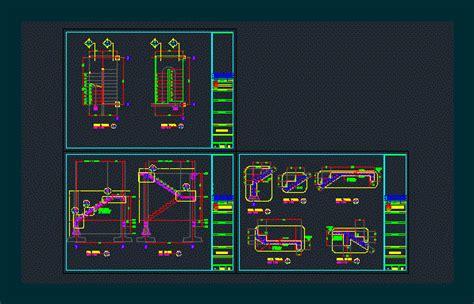 detail tangga dwg detail  autocad designs cad