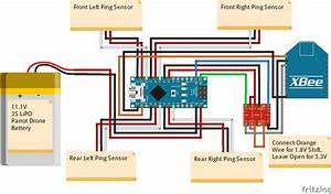 Drone Circuit Diagram