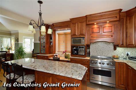 comptoire cuisine comptoir de granit et quartz réalisations de cuisines et