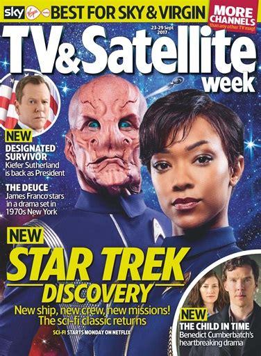 tv magazine gratuit tv satellite week magazine 23rd september 2017 subscriptions pocketmags