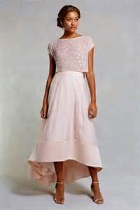 bridesmaid separates 17 stunning blush bridesmaid dresses weddingsonline