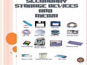 Secondary storage devices and