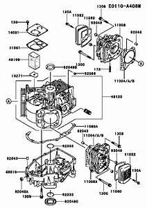 Fh541v Cylinder  Crankcase Parts For Kawasaki Propane Engines