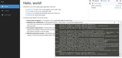 bootstrap 4 webpack templates github vhanla vuets spa template for asp net core 2 1