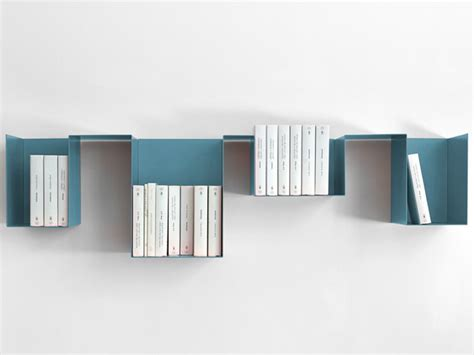 Mensole Metallo Design Spread Mensola Libreria Di Design In Metallo Modulare