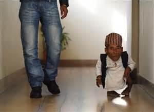 World Shortest Person Ever
