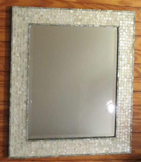 mirror with mosaic tile border 28 images mirror with