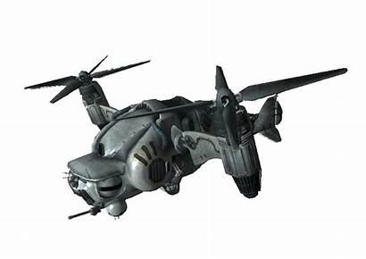 Vertibird Fallout Gunship Osprey Vtol Vb Concept