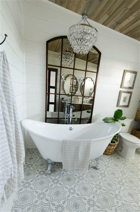 Master Bathroom Decor Ideas by 47 Best Farmhouse Master Bathroom Design And Decor Ideas