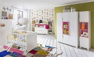 étagère Murale Chambre Bébé : etagere murale joris chambre bebe blanc rose ~ Teatrodelosmanantiales.com Idées de Décoration