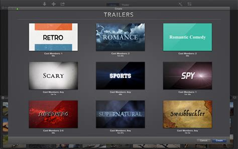 imovie trailer templates apple redirect