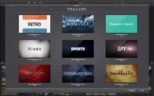 apple redirect With trailer templates for imovie