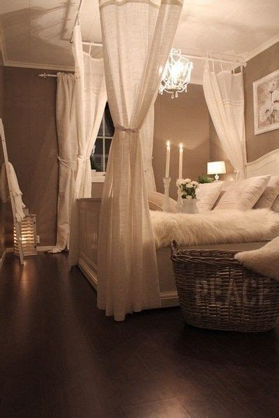 how to make a four poster bed with curtain rods