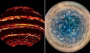Jupiter is hell? New pictures of planet from NASA's Juno ...