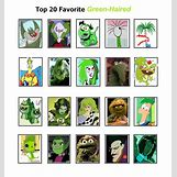 Green Cartoon Characters | 866 x 922 jpeg 196kB