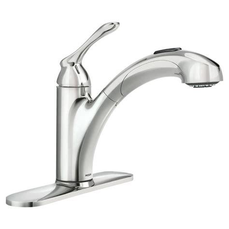 changer robinet cuisine moen banbury robinet de cuisine à 1 poignée avec bec rétractable agencé fini chrome home