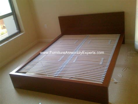 Malm Bed Assembly by Ikea Malm Bed Frames Sultan Laxery Slat Assembled In The