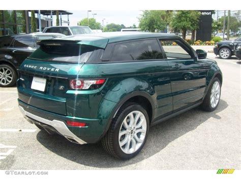 range rover dark green 2012 kosrae green metallic land rover range rover evoque